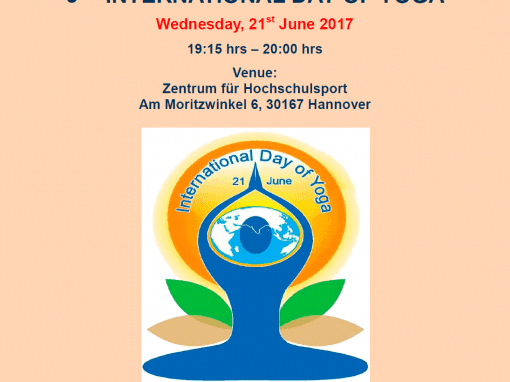 Third International Day of Yoga – june-2017 – (Consulate General of India, Hamburg )