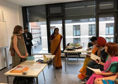 Closing Ceremony of Sanskrit Classes and Visit of Hon_ TTC Director to Hannover-006iashannover