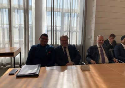 3 Hon. Consul General, Shri Madan L Raigar and Mayor Mr. Thomas Hermann at the event Business opportunities in India - India days 2019- march 22- day2-iashannover