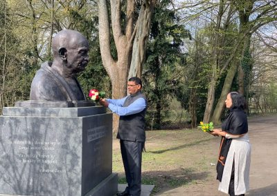 Gandhi-Bust-india days-march-24-day-4-IMG_4198-iashannover