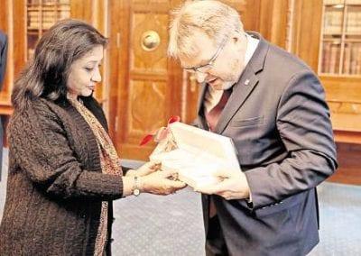 Ambassador visit to Hannover