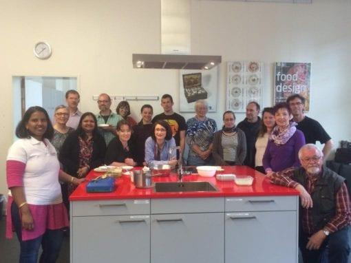 Cooking workshop (By Mrs Padma Rao)
