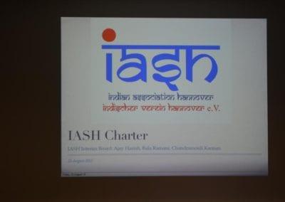 IASH Inauguration 2013