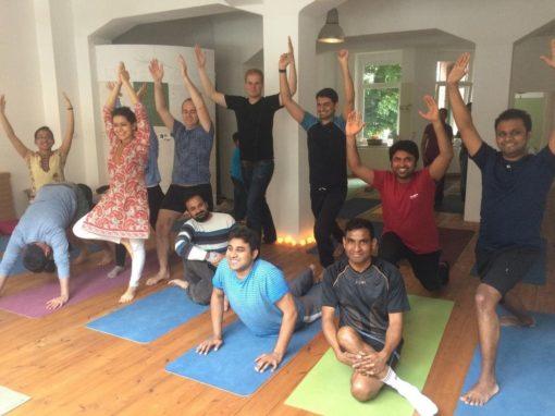 Yoga Workshop Pics