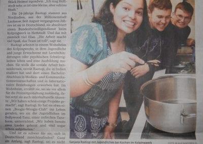 Leibniz University Alumni volunteer service to support young people in Germany