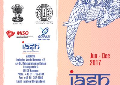 Indischer Verein Hannover e.V. : 2018 Program list