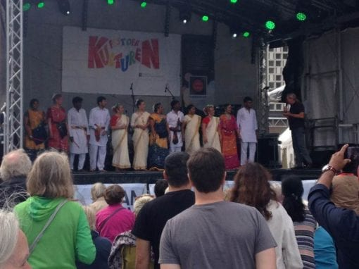 Indian Cultural Celebration in Hannover during Festival of Cultures
