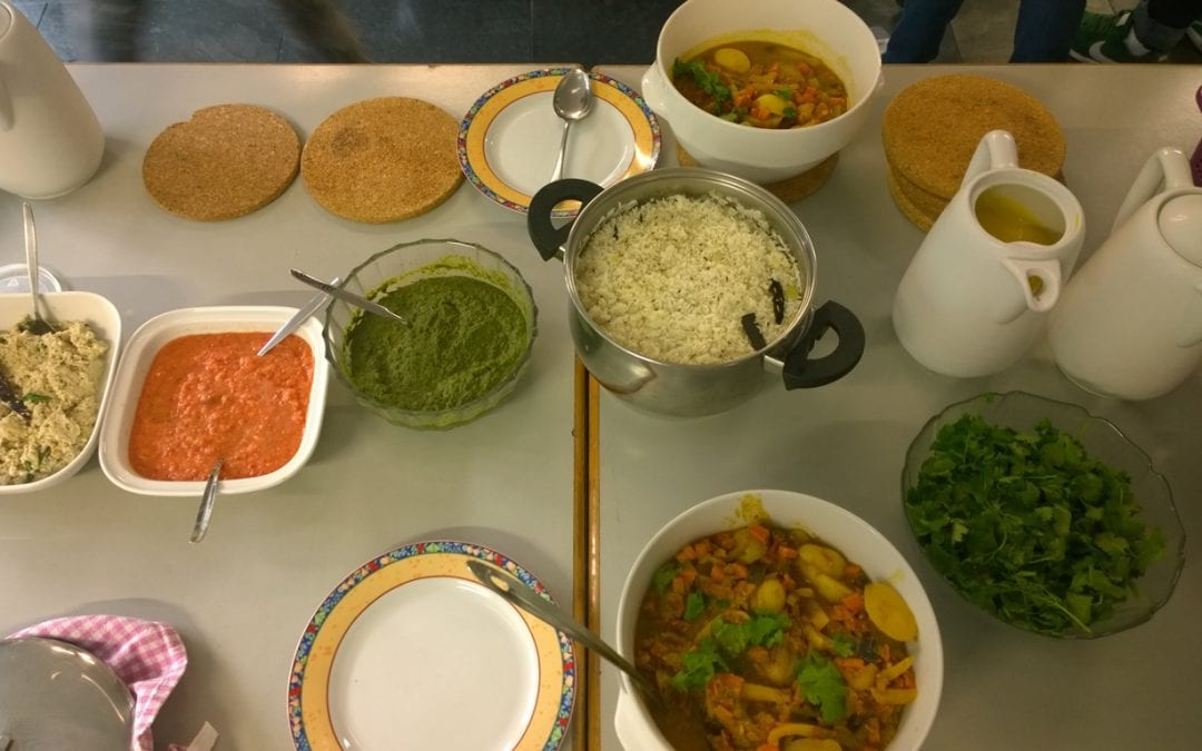 IASH Cooking Evening – COLOURFUL INDIA 09.09.2017