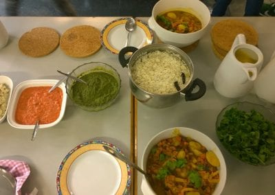 IASH Cooking Evening – COLOURFUL INDIA 09.09.2017