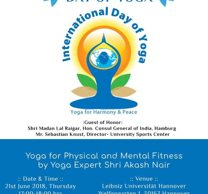 4th International Day of Yoga – Hannover