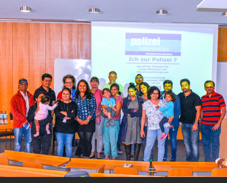 iCafé- Safety and Rights of Residents- In Collaboration with Police Department of Hannover