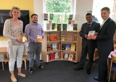 India Corner at the Library of ISHR 29th June 2018