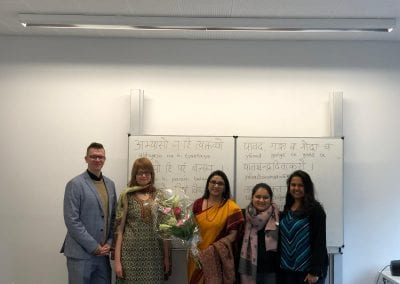 Closing Ceremony of Sanskrit Classes and Visit of Hon_ TTC Director to Hannover-002iashannover