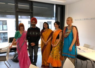 Closing Ceremony of Sanskrit Classes and Visit of Hon_ TTC Director to Hannover-007iashannover