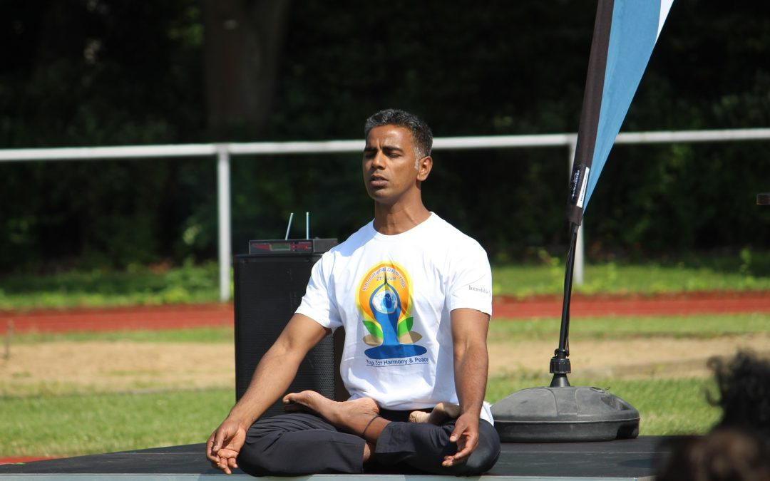 International Day of Yoga 2020.