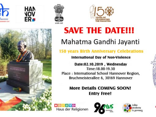 Mahatma Gandhi Jayanti Celebrations (150 Years Birth Anniversary) and International Day of Non-Violence