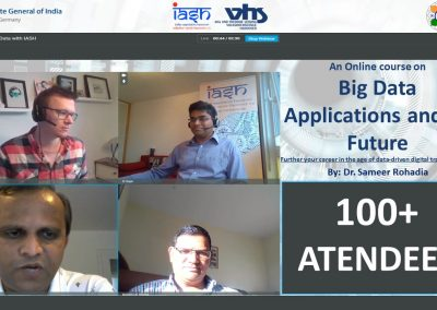 Online course on Big Data Applications and its Future