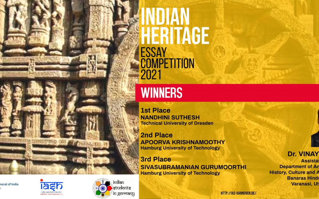 """Essay Competition on """"Influence of Indian Heritage on the World"""""""